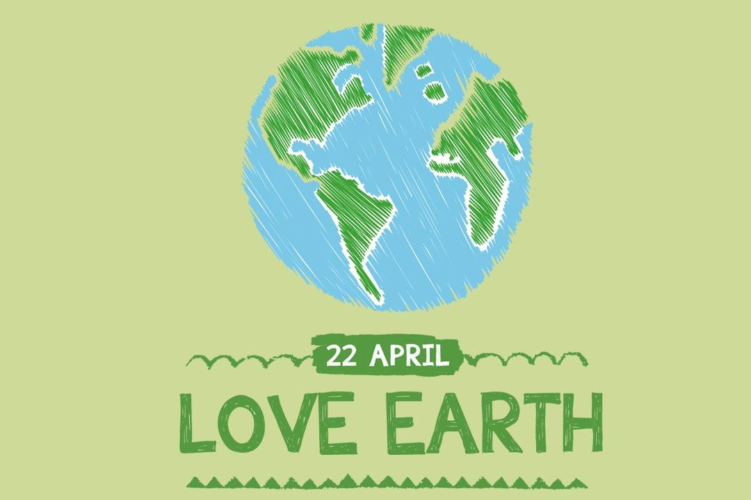 世界地球日 ♥ 一起愛地球